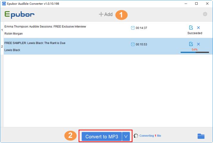 AAXC zu MP3 Konvertieren