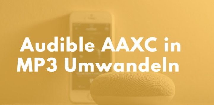 umwandeln von Audible AAXC in MP3