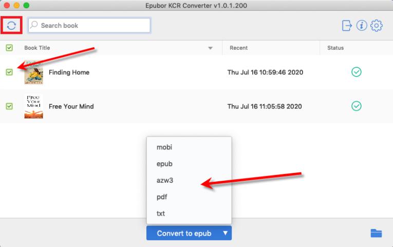 kcr convert mac